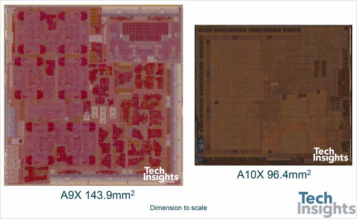 Apple A10X die