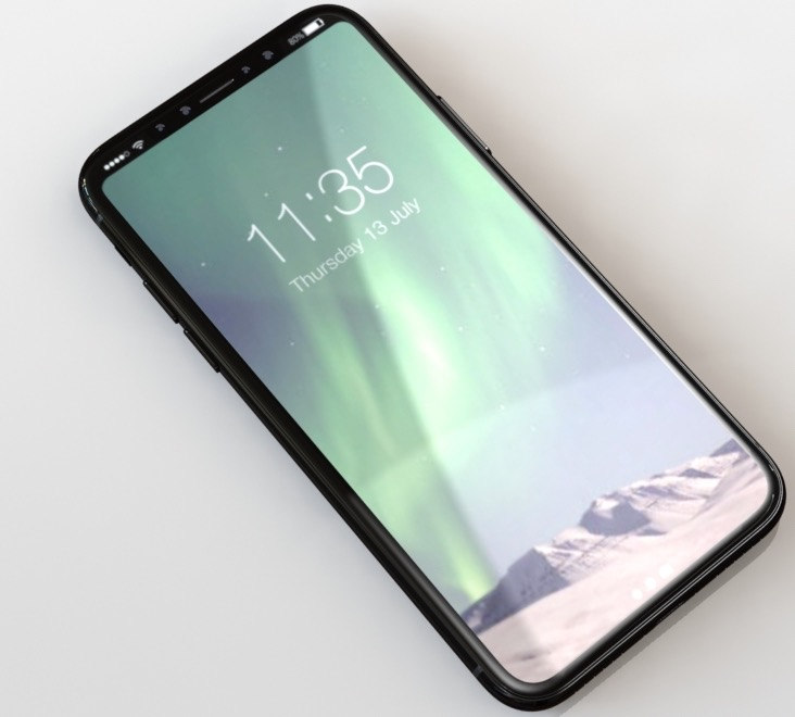 iPhone 8 frame leak