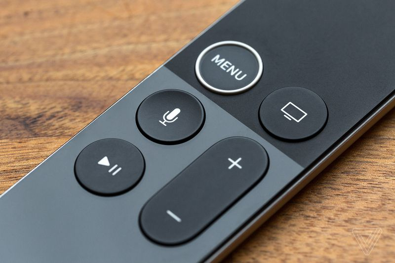 Apple TV 4K remote control