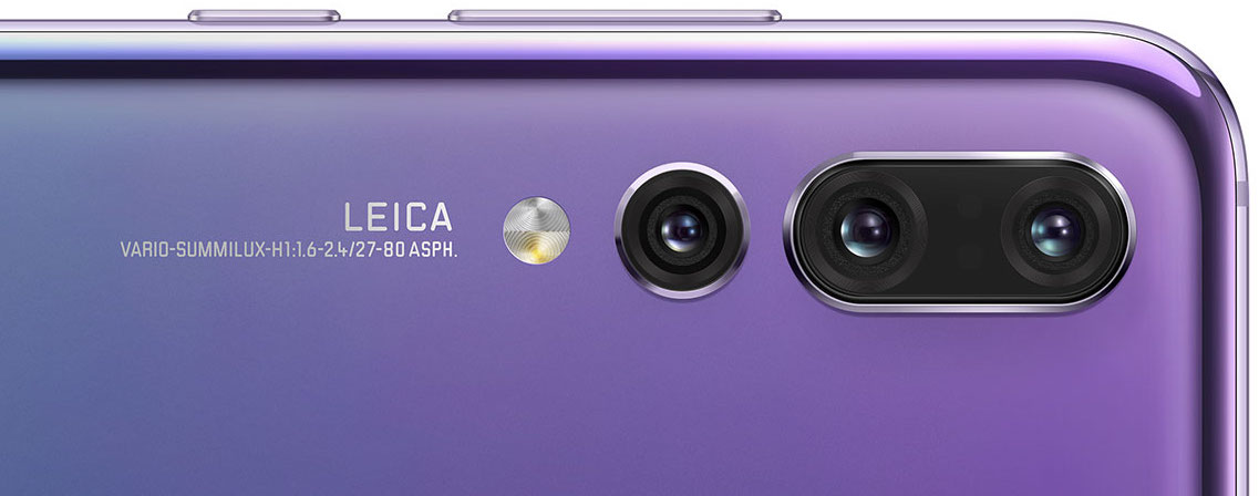 Huawei P20 Pro camera detailed