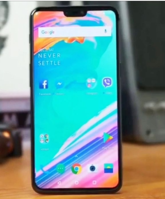 OnePlus 6 front