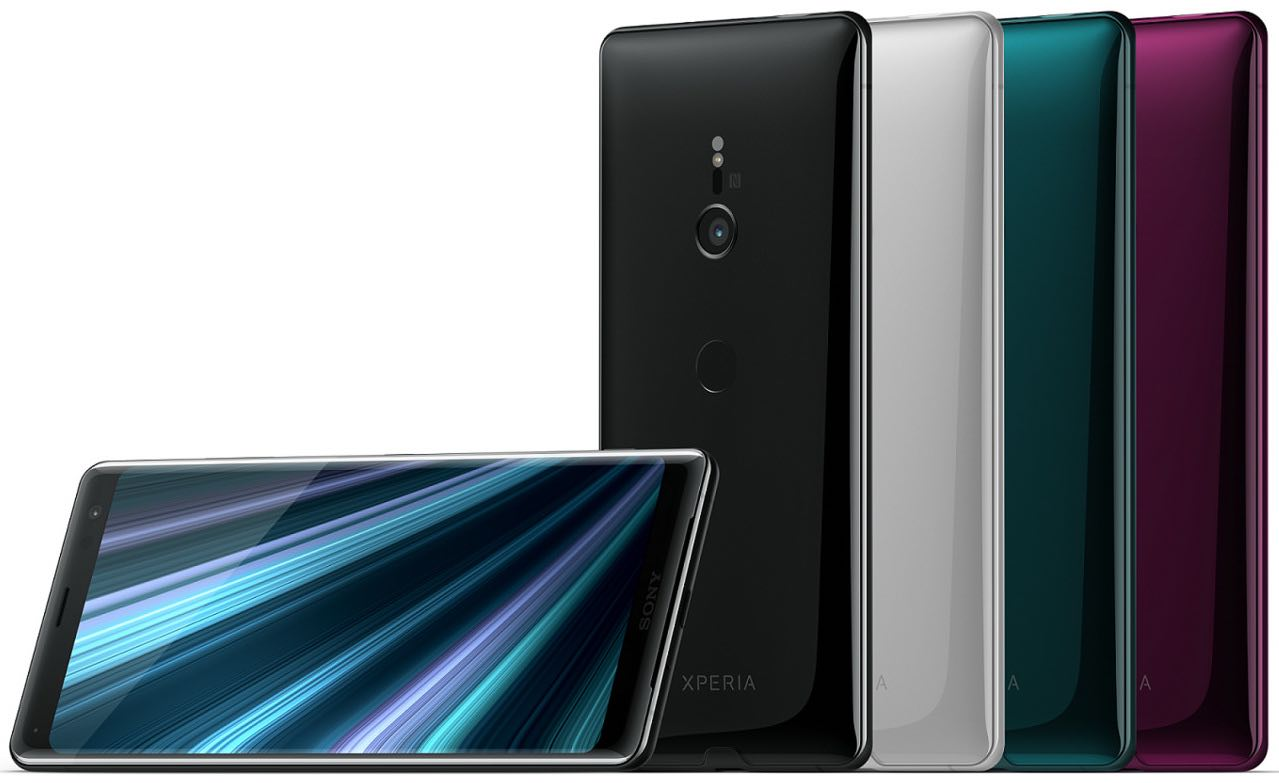 Xperia XZ3 colors