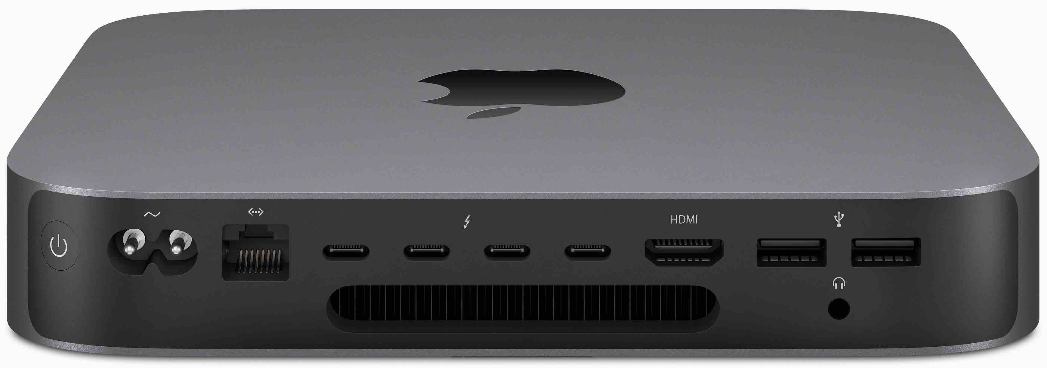 Mac mini 2018 back