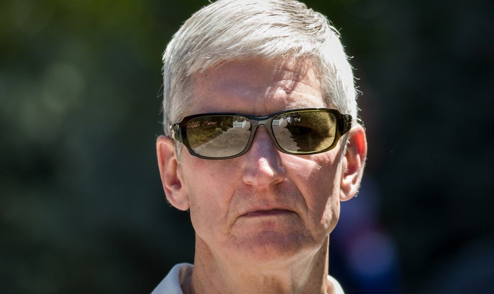 Tim Cook sun glasses