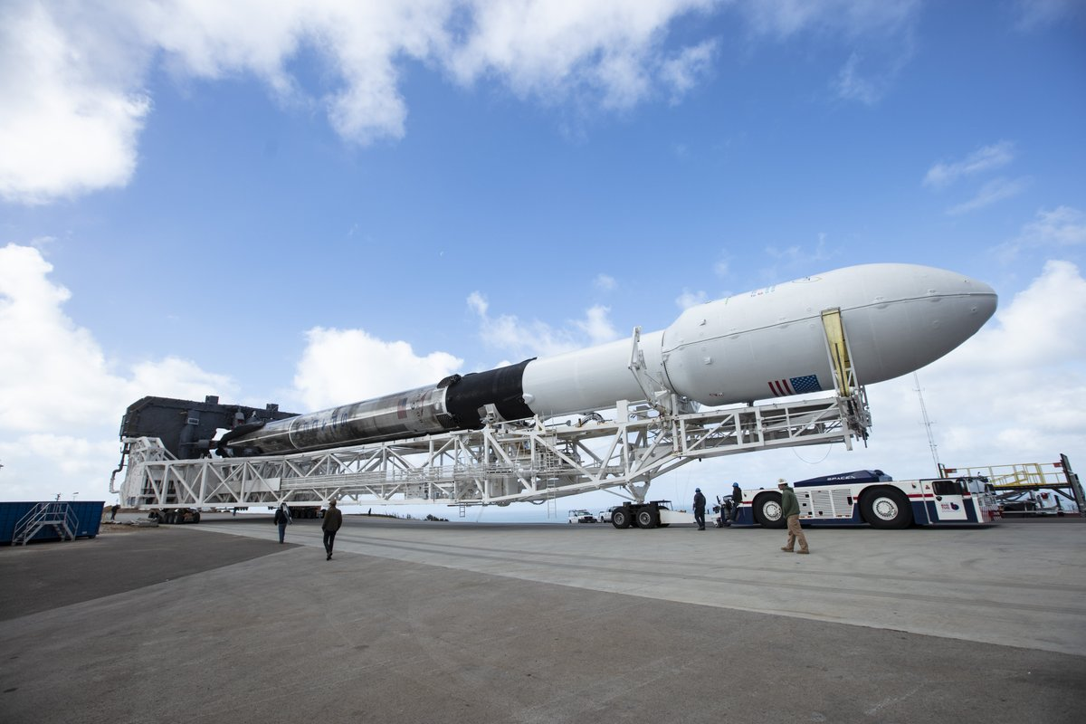 Falcon 9 re-used