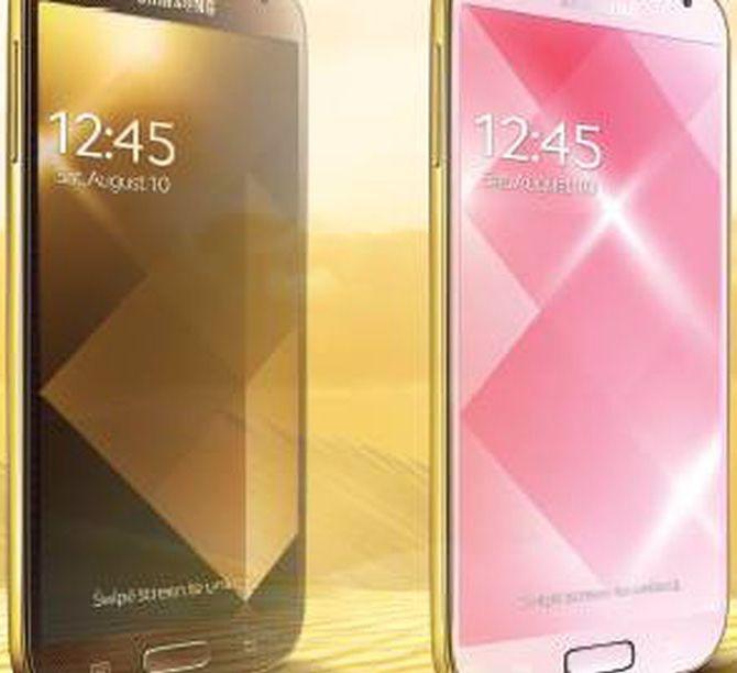 Galaxy S4 Gold