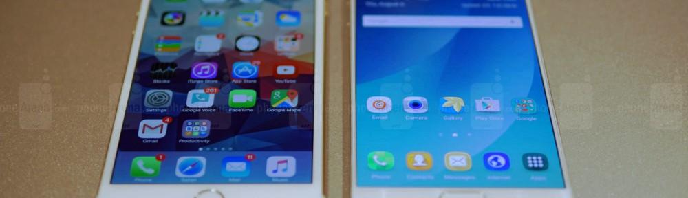 Galaxy Note 5 vs iPhone 6