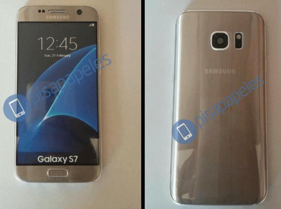 Galaxy S7 gold