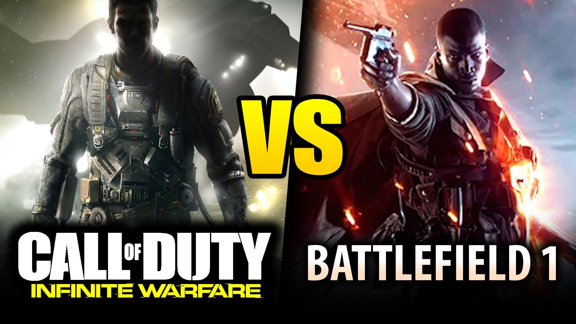 Battlefield vs Call of Duty