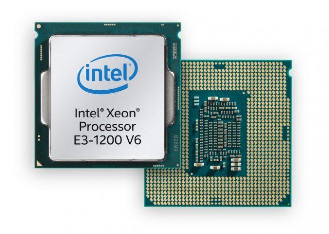 Intel E3-1200 v6