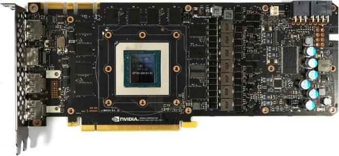 Nvidia GTX 1080 Ti board