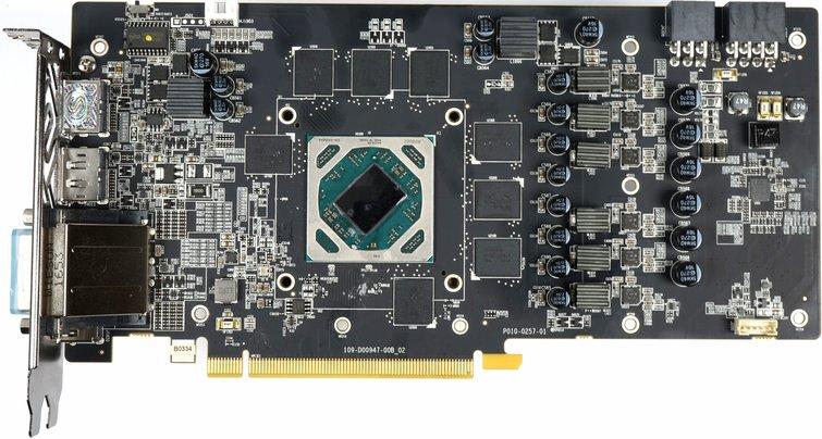 Radeon RX 580 board