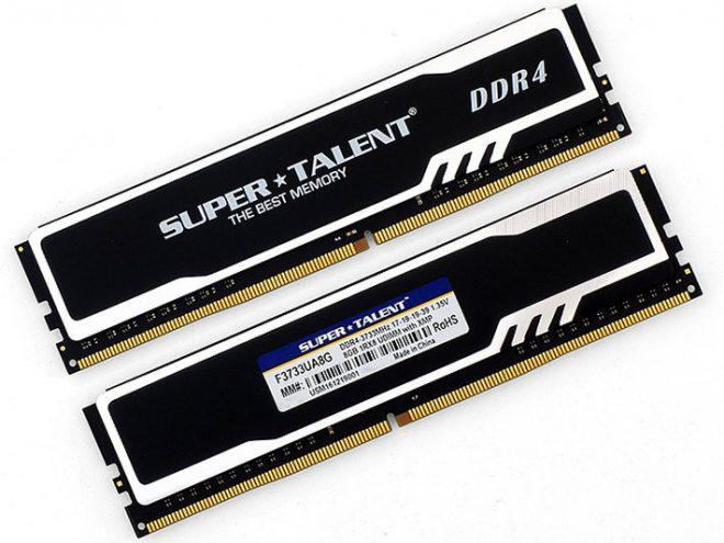Super Talent DDR4