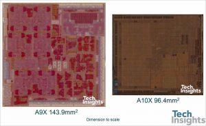Apple A10X die