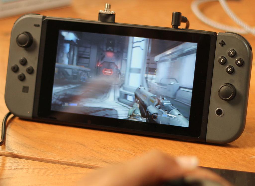 Nintendo Switch Doom gameplay