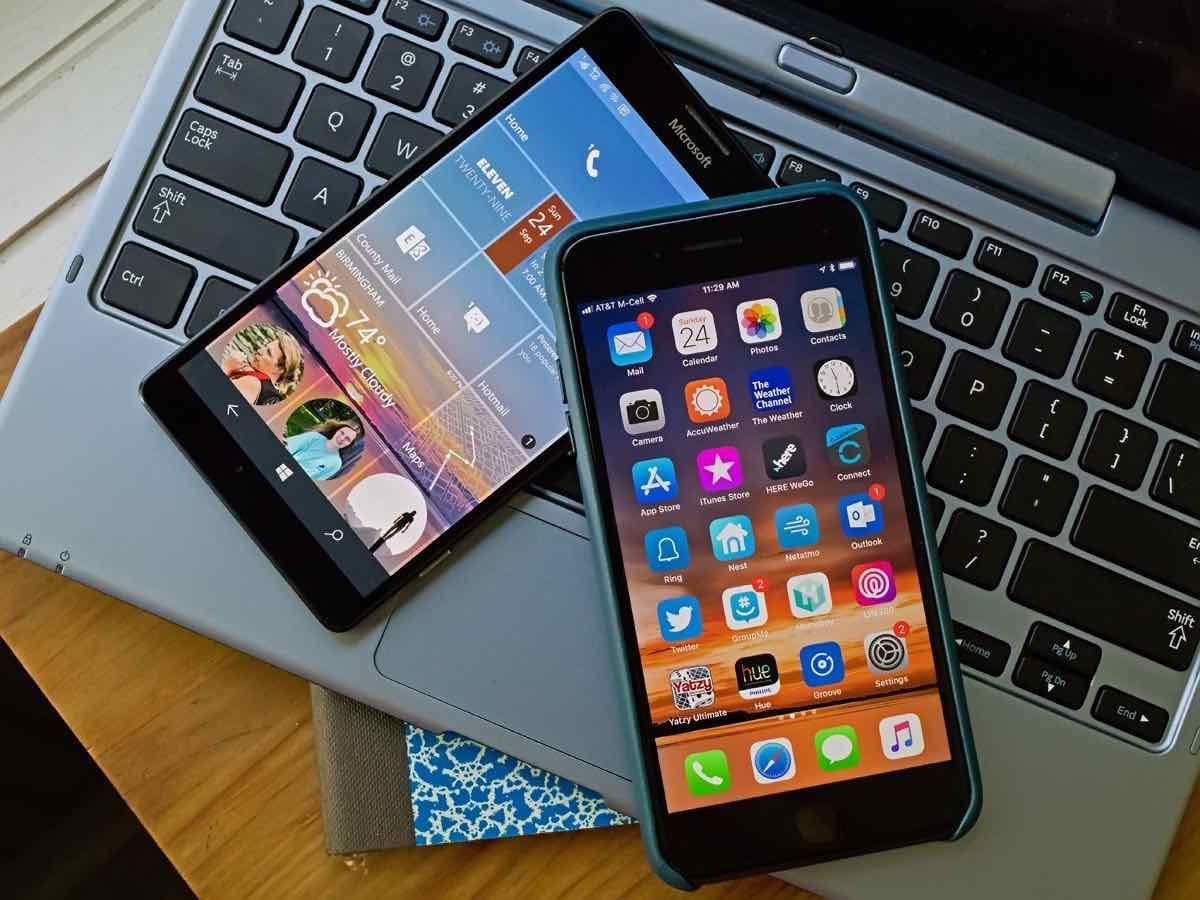 iPhone-8-and-Lumia-950XL