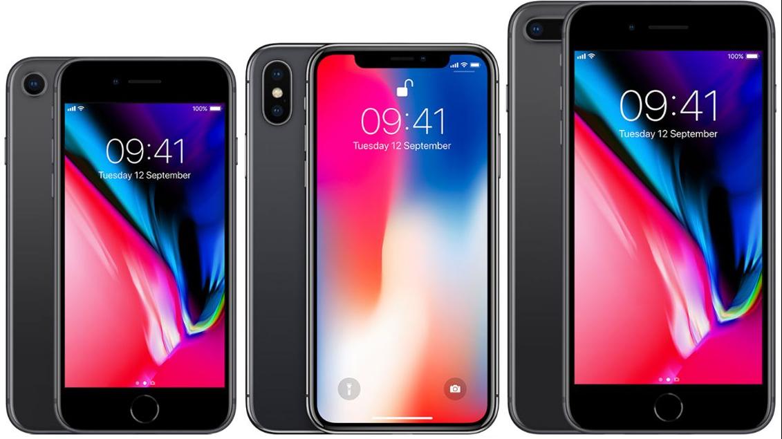 iPhone 8, iPhone X и iPhone 8 Plus