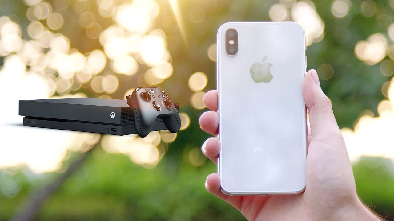 iPhone X vs Xbox One X