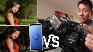 Galaxy S9 vs Arri Alexa Mini