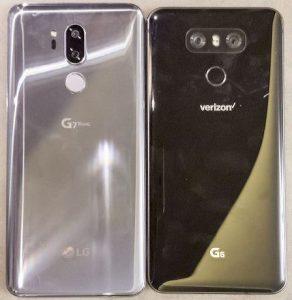 LG G7 ThinQ vs LG G6
