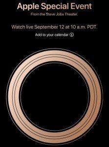 Apple Event Sep-2018