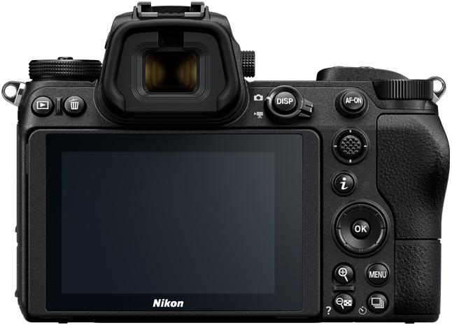 Nikon Z7 & Z6 back