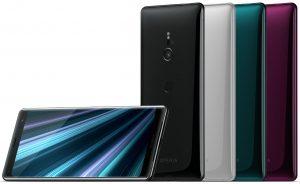 Xperia XZ3 colors