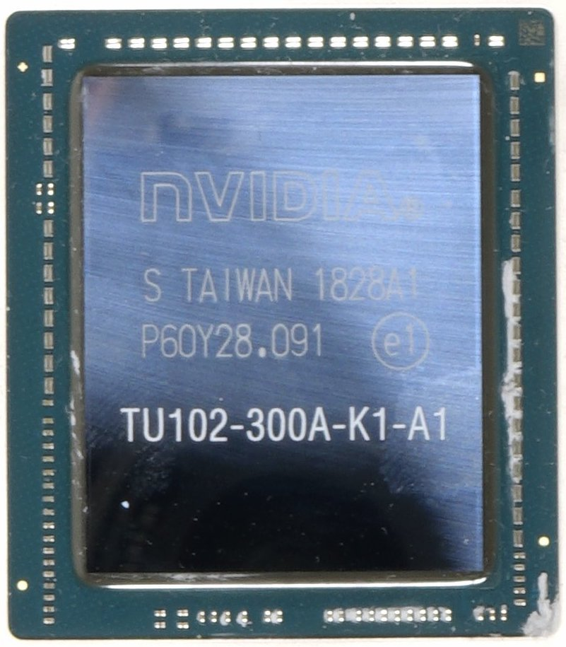Nvidia TU102-GPU