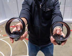 Oculus Quest controlers