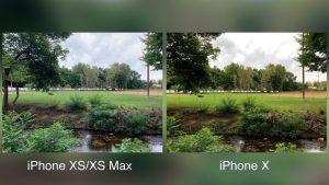 iPhone XS Max vs iPhone X