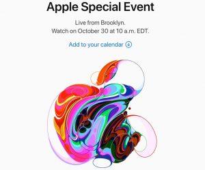Apple-Event-oct-18