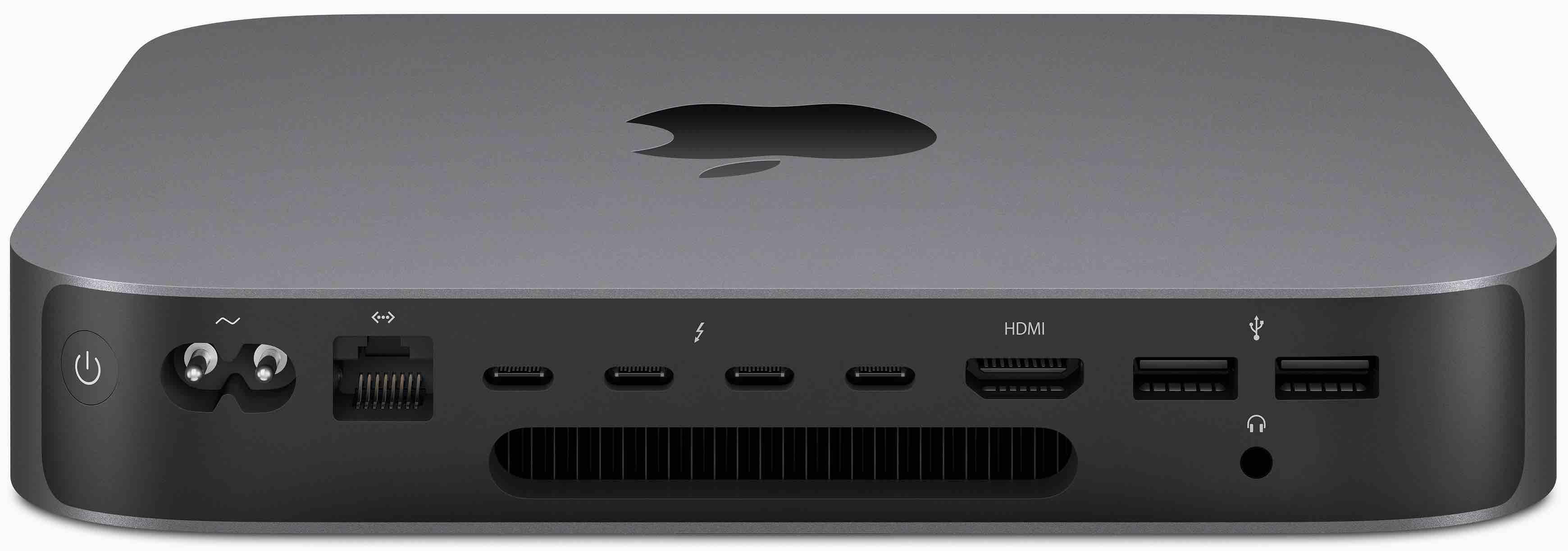 Mac mini 2018 back