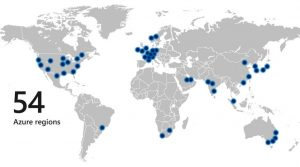 Microsoft Azure regions