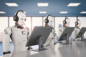 Robots watch movies