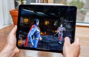 iPad Pro 2018 gaming