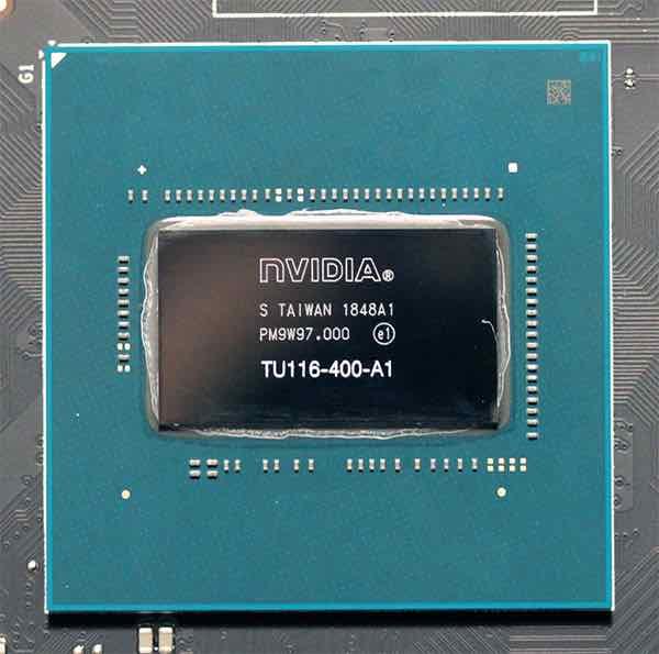 GTX 1660 Ti chip