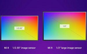 Xiaomi Mi 9 camera sensor