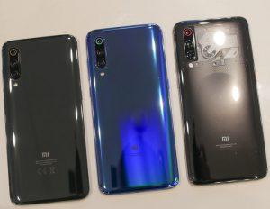 Xiaomi Mi 9 colors live